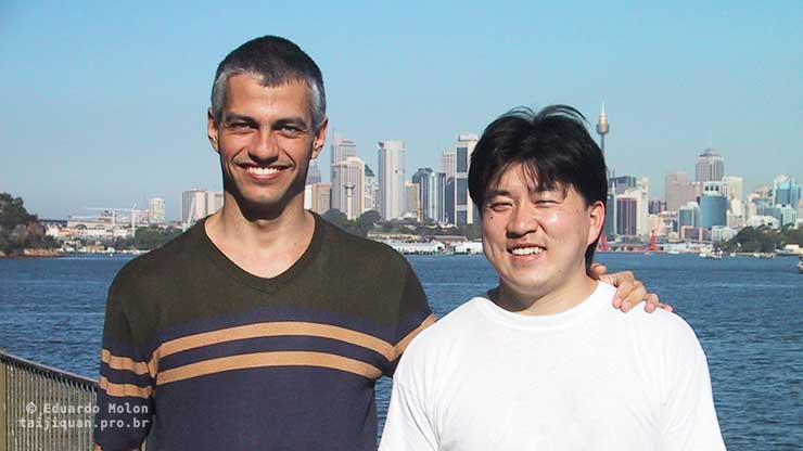 Chen Yingjun and Eduardo Molon, 2001