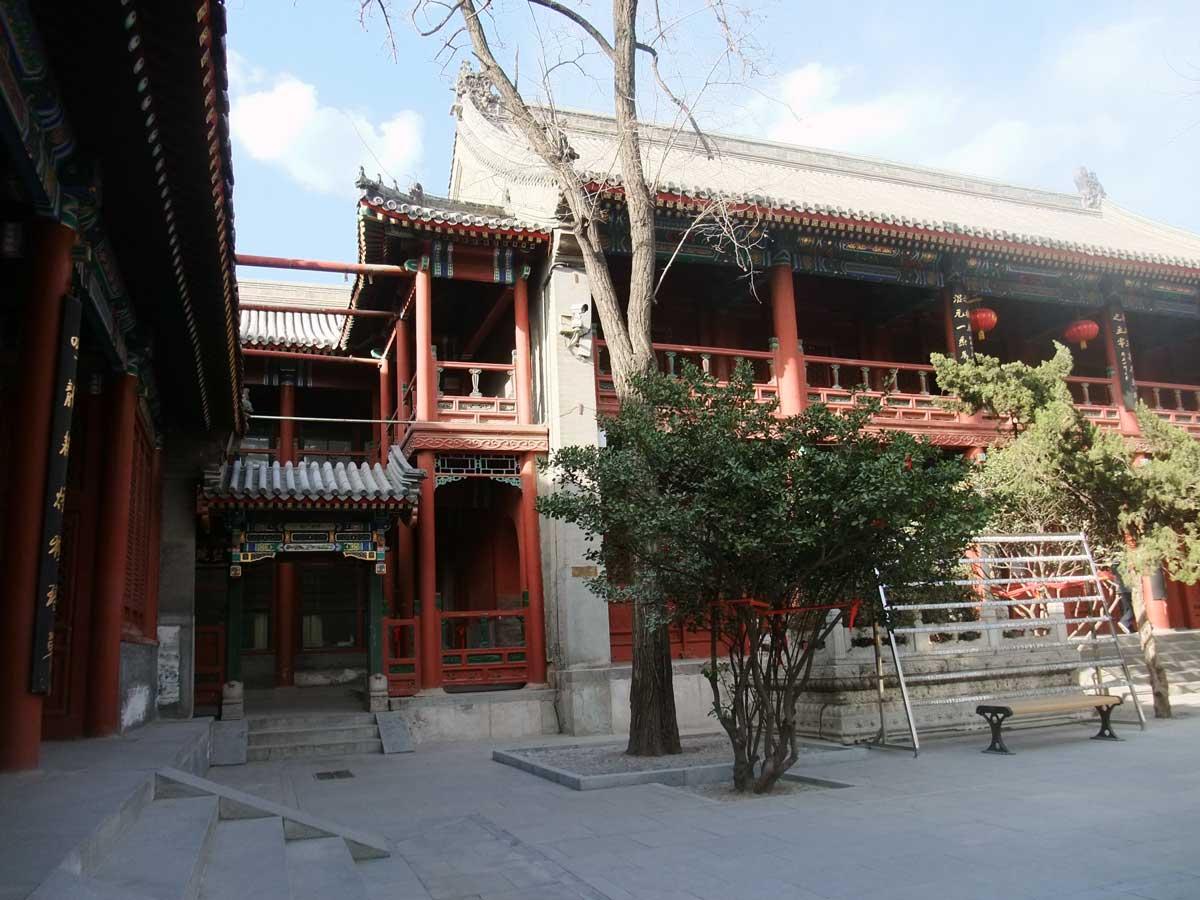 Templo da Nuvens Brancas, em Pequim