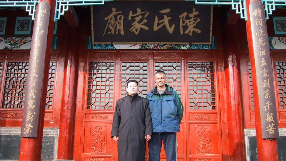 Treinando na China