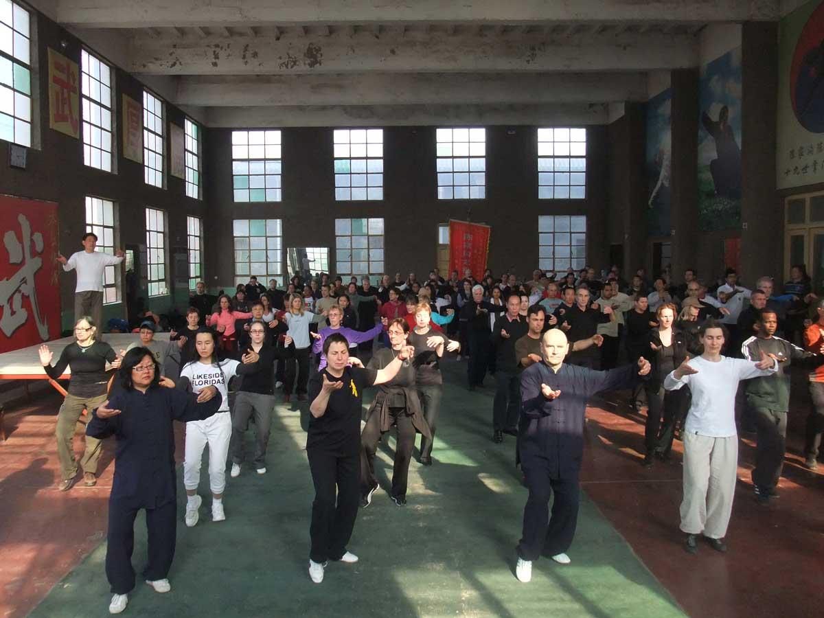 Seminário na Escola de Tai Chi Chuan de Chenjiagou