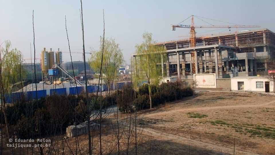 Obras públicas em Chenjiagou
