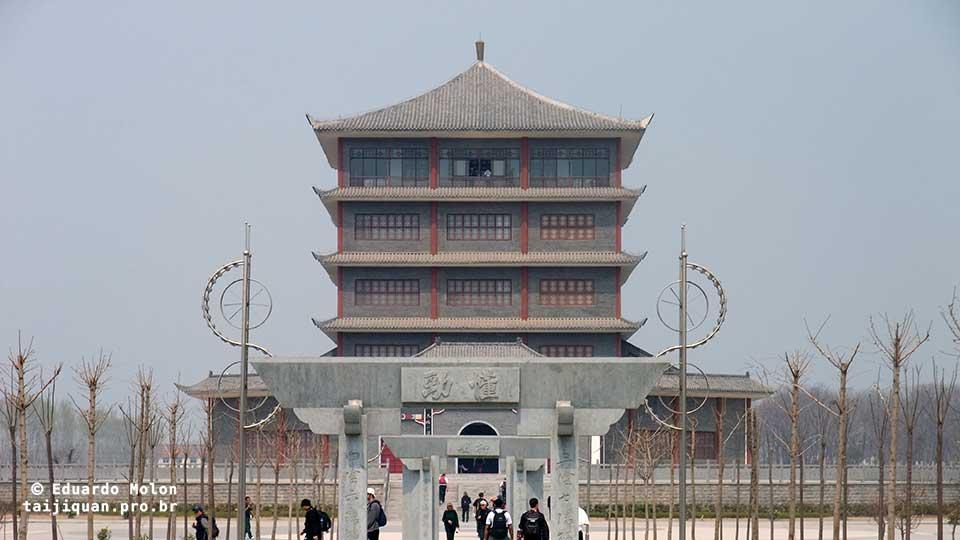 Museu do Tai Chi Chuan, em Chenjiagou