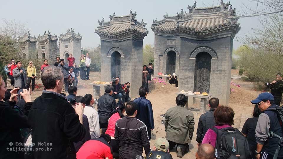 Cemitério da família Chen, em Chenjiagou