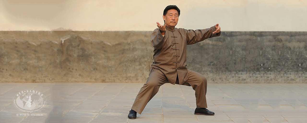 O princípio de movimento do Taijiquan