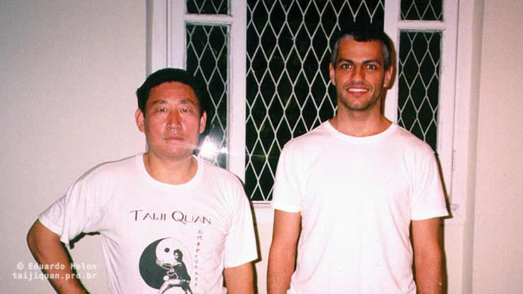Eduardo Molon with Chen Xiaowang