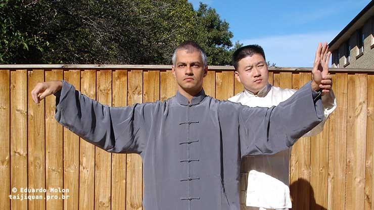 Eduardo Molon com Chen Yingjun