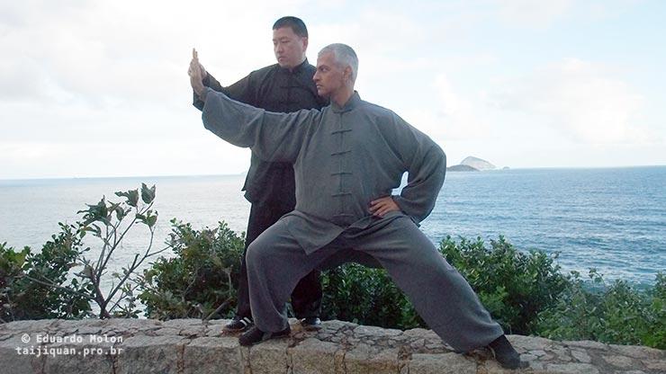Eduardo Molon e Chen Yingjun