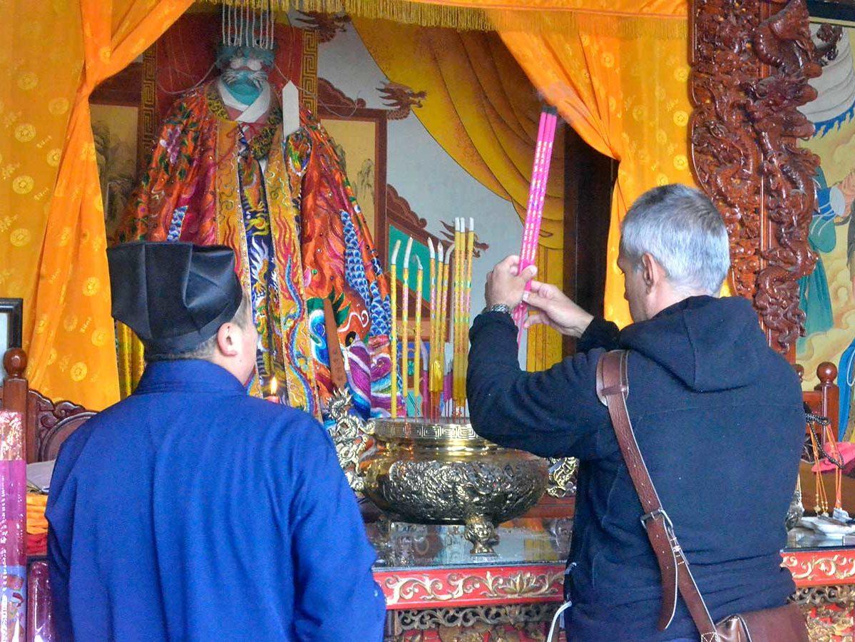 Santuário nas montanhas Huashan