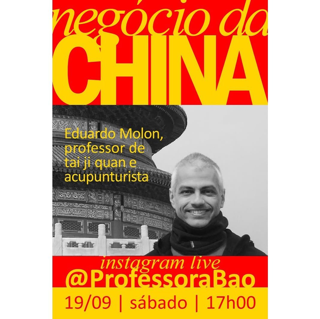 Live com a Professora Ju Bao