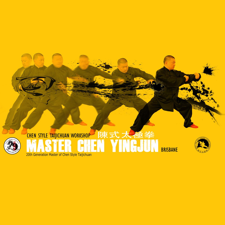 Poster com Chen Yingjun