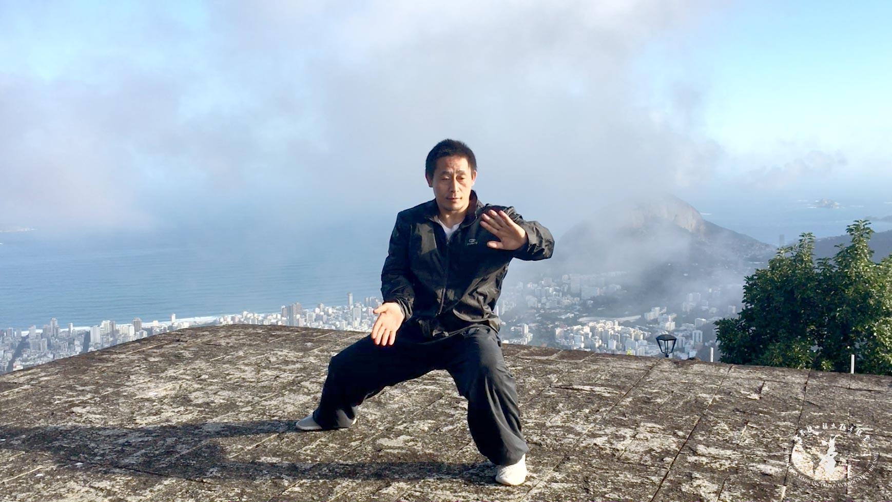 Chen Ziqiang no Rio de Janeiro