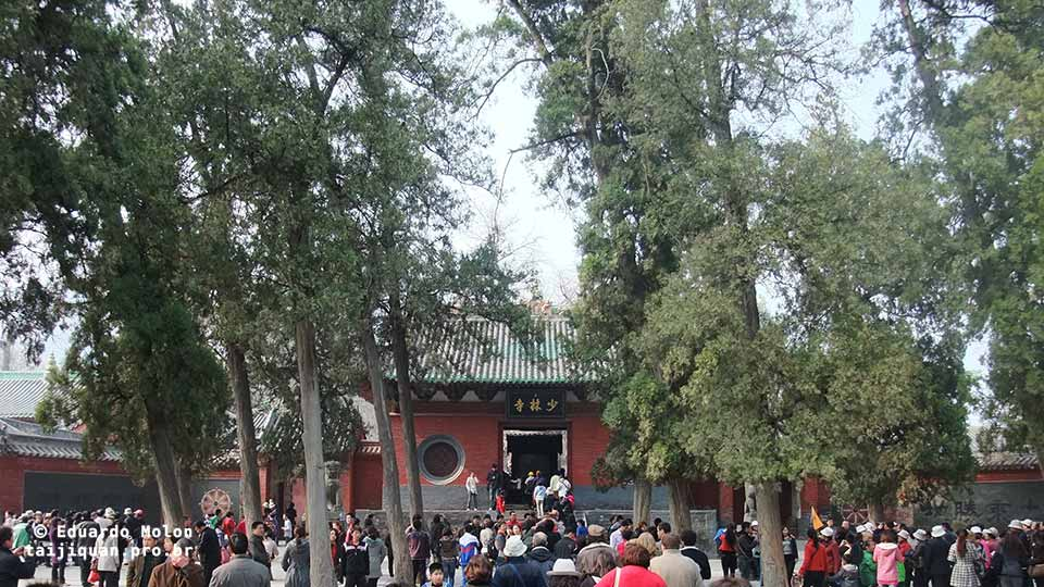 Entrada do mosteiro de Shaolin