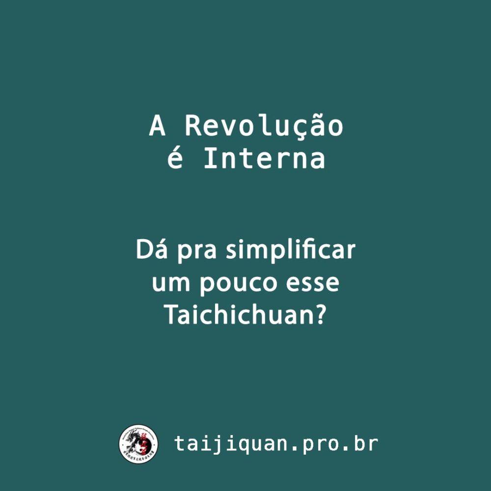 Simplificações do Taijiquan