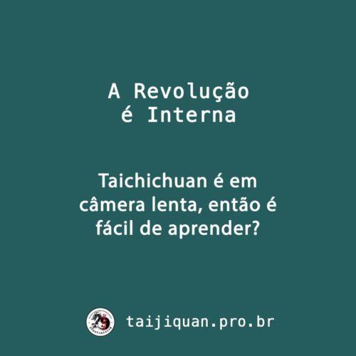 É fácil aprender Taijiquan?